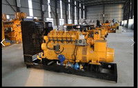 100KW natural gas generator set with Mute compartments fo Russia