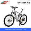 2015 good quality electric bike, electric bike with hidden battery rear suspension EN15194
