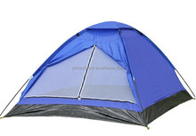 2 person one layer camping tent dome tent beach tent