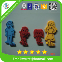 Custom Printed fridge magnets in pvc rubber or silicone,soft rubber magnet, souvenir fridge magnet