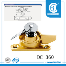 Good quality window cam crescent lock with key 360