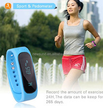 2015 hot Health sleep monitoring smart band E02 smart bracelet e02 180days Long standby For Android and iOS