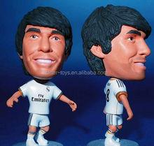 OEM custom model football figures of world famous football player figure toys