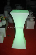 Bar recreation club light-emitting furniture Table cocktail LED bar high fashion creative personality cocktail table