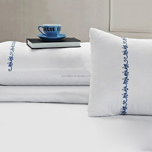 High quality 100% cotton Embriodery pillowcase