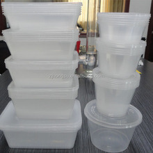 BPA FREE plastic containers for food storage, 100% leak-proof