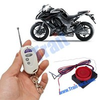 Motorcycle AntiTheft Remote Control Security Alarm System Vibration Sensor