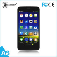 5.0 inch quad core dual sim card ultra-slim cheap android 4.4 mobile smart phone