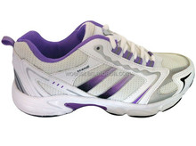 hot selling female white active sports shoes