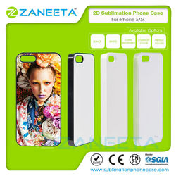 2D Sublimation Phone Case for iPhone 5/5S | Sublimation case for iPhone 5 | sublimation blank case for iphone