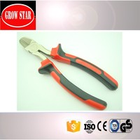 Function of diagonal isolated cutting pliers