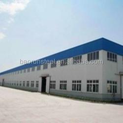 Hot Dip Galvanized Steel Building/Workshop