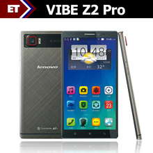 "Lenovo VIBE Z2 Pro K920 Cell Phones Android 4.4 Quad Core 2.5GHz 6"" LTPS 2560x1440 3GB RAM 16MP Camera 4G LTE Original Mobile"