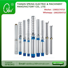 multistage stainless steel submersible pumps
