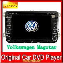vw estéreo del coche dvd con gps especial para volkswagen magotan reproductor de dvd