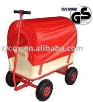 wooden cart,bollerwagen