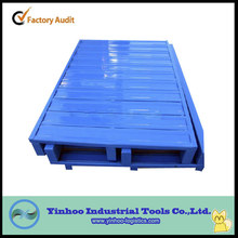 china supplier free loading steel pallet for display