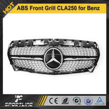ABS Auto Front Grill Star CLA250 C117 for Mercedes Benz 2014-2015