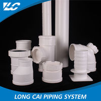 China Golden Supplier Recyclable Smoothly Large Diameter Pvc Pipe Prices