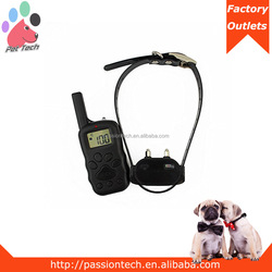 Pet-Tech X-600 best selling 330yards led light dog collar training with remote