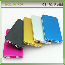 Factory sale plolymer battery power bank 4000mah customized