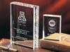 2014 custom religious crystal book trophy