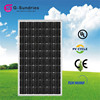 Reliable performance 240wp monocrystalline marine solar panel