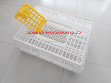 Plastic Material and Chicken Use animal transport cage