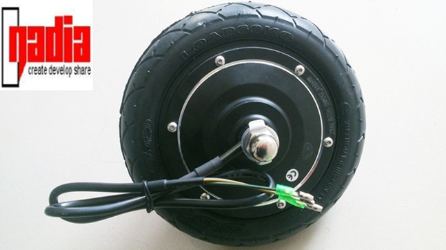 8 inch bldc gearless electric hub motor kit electric for Scooter hub motor kit