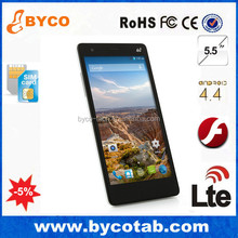"""Cellphone Android Brand SmartPhone quad core 5.5"""" 4G android 4.4 smartphone"""