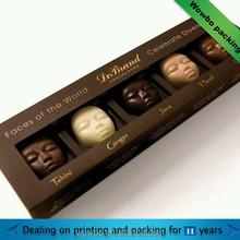 custom paper chocolate box/ cardboard chocolate packaging/ wholesale chocolate box