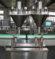 Full-automatic milk powder/coffee powder/ dry powder filling canning machine with CE,ISO