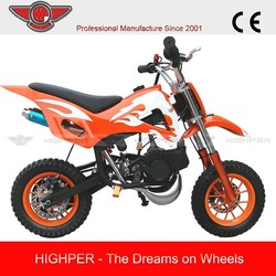 2015 high per 49cc 2 stroke mini Dirt Bike with CE (DB504)