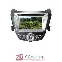 [YZG]Touch screen car DVD Player for Hyundai-Elantra 2012(7'')with GPS navigation,high quality ,favorable price