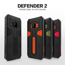 Nillkin Defender 2 Armor Hybrid Tough Slim phone cover case For HTC One M9