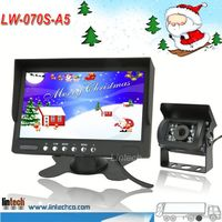 "2014 NEW! 7"" reverse camera system,rearview camera system,blind spots of a car"