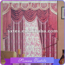 High quality 10 years experience Flexible curtain tails swag