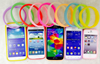 Multi Function Luminous Elastic Silicone Wrist Ring Phone Case For iPhone and samsung