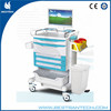 BT-LY02 mobile hospital computer cart medical workstation trolley with wheels