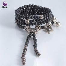 Thai Silver Pendant 925 Sterling Silver Shamballa Bracelet fit Necklace