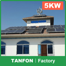 5KW 10KW solar electricity generating system for home / solar panel complete set / solar panel kits for home grid system