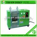laboratorio de balanceo de la máquina de la prensa para la batería de litio caliente electrodo de calandrado