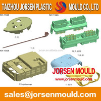 plastic injection mold for worm
