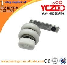 Nouvelle salle de bains de cuivre de bain porte coulissante rouleau roue de YCZCO