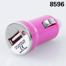 Universal USB Mobile Phone Car Charging Charger Travel Adapter for smart phone
