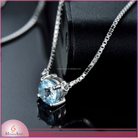 Latest Design CZ Handmade pendant Silver Jewelry