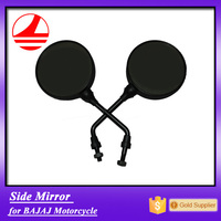 factory export quality black color BAJAJ motorcycle side mirror