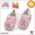 krdshoes estilo de la moda del bebé muy ganado calzado cómodo y transpirable para las niñas
