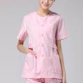 diseño femenino blanco enfermera uniforme de uso hospitalario