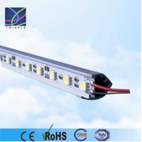 Customized led rigid bar light smd5050 aluminum chanel case